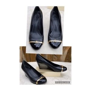 Tory Burch wedges heels shoes Size 5M